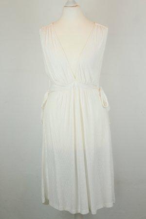 French Connection Kleid Sommerkleid Gr. UK 10 / dt 38 weiß ärmellos