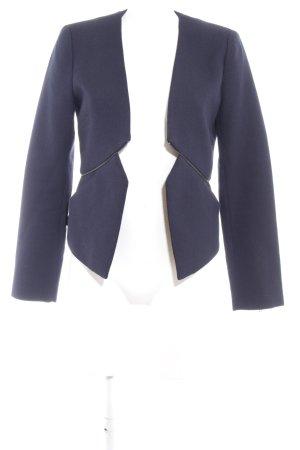 French Connection Kurz-Blazer dunkelblau extravaganter Stil