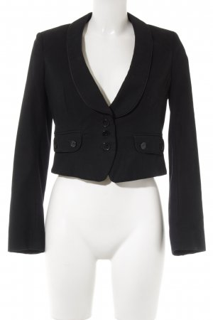 French Connection Kurz-Blazer schwarz Business-Look