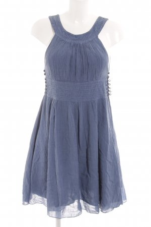 French Connection Kurzarmkleid kornblumenblau Casual-Look