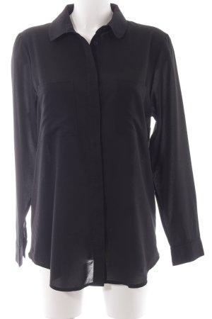 French Connection Camicia a maniche lunghe nero stile semplice