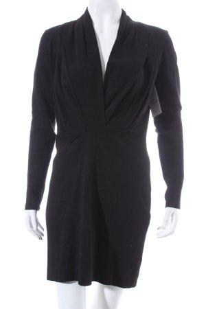 French Connection Langarmkleid schwarz Elegant