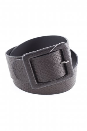 French Connection Leather Belt black casual look