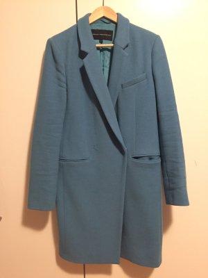 French Connection Mantel Gr. 38  blau