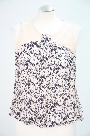 French Connection Backless Top multicolored viscose