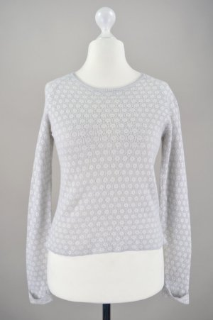 French Connection Pullover mit Ayourmuster grau Größe S