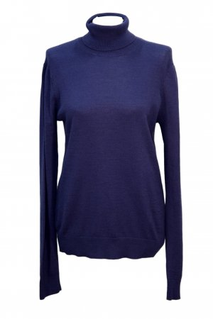French Connection Rollkragenpullover in Blau