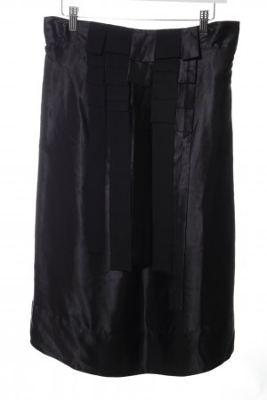 French Connection Silk Skirt black casual look