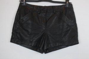 French Connection Hot pants nero Poliuretano