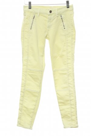French Connection Skinny Jeans blassgelb Casual-Look