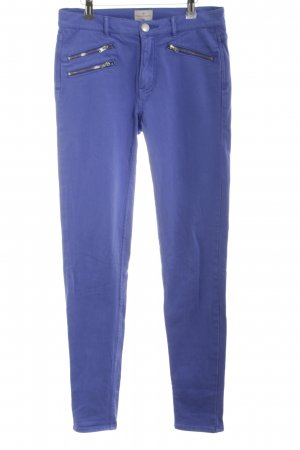 French Connection Stretchhose neonblau Casual-Look