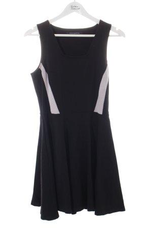 French Connection Trägerkleid schwarz-weiß Elegant