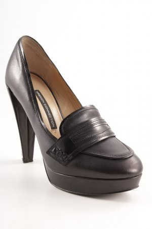 French Connection Loafer nero elegante