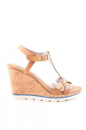 French Connection Wedges Sandaletten nude Casual-Look