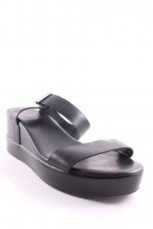 French Connection Wedge Sandals black casual look