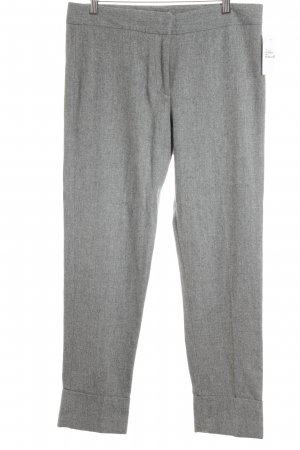 French Connection Pantalone di lana grigio-blu pallido stile casual