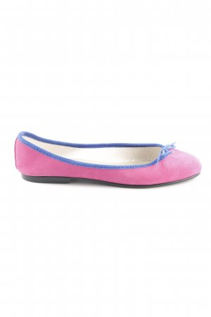 French sole fs/ny Ballerines pliables rose-bleu style décontracté