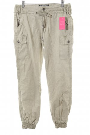Fresh made Cargo Pants beige casual look