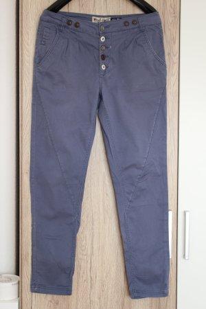 Fresh Made Chino-Hose Stoffhose blau M 38 Hose