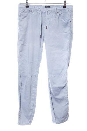 Fresh made Pantalón de cinco bolsillos gris claro look casual