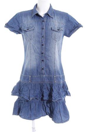Fresh made Jeanskleid stahlblau Casual-Look