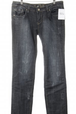 Fresh made Slim Jeans dunkelblau Casual-Look