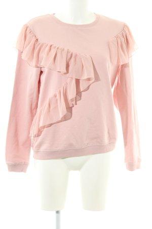 Fresh made Sweatshirt pink Casual-Look