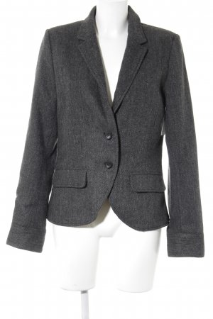 Fresh made Woll-Blazer Fischgrätmuster Business-Look