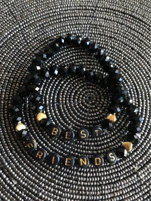 Pearl Bracelet black-bronze-colored