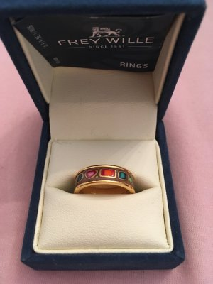 Freywille Bague multicolore