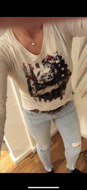 Frida & Freddies Langarm Shirt Gr S Printshirt