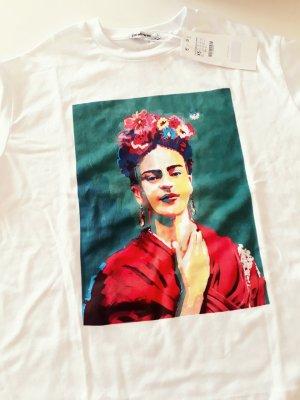 Frida Kahlo Shirt gr.XS oversized Stradivarius sold out!ausverkauft!