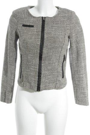 Friday' s Project Blazer corto nero-crema modello web stile casual