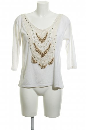 Friday' s Project Longsleeve creme Hippie-Look