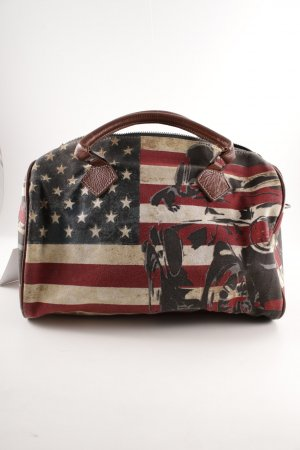 Frieda & Freddies New York Borsa da bowling Stampa a tema stile atletico