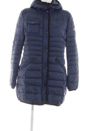 Frieda & Freddies New York Down Jacket blue quilting pattern casual look