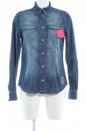 Frieda & Freddies New York Jeanshemd blau-graublau Country-Look