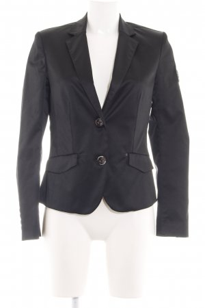 Frieda & Freddies New York Kurz-Blazer schwarz Business-Look