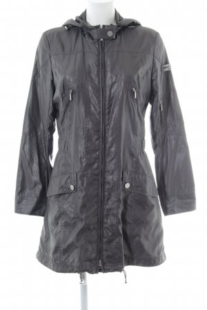 Frieda & Freddies New York Lange Jacke grau Casual-Look