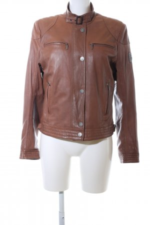 Frieda & Freddies New York Lederjacke braun Business-Look