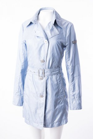 Frieda & Freddies New York Trench Coat azure polyester