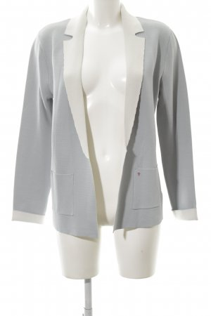 Frieda & Freddies New York Long-Blazer hellgrau Casual-Look