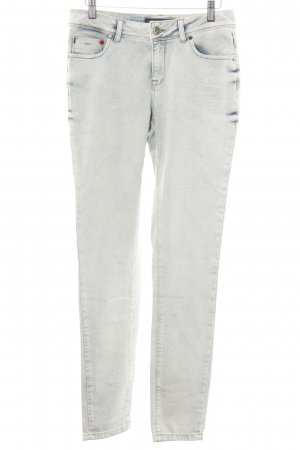 Frieda & Freddies New York Skinny Jeans wollweiß-blau Casual-Look