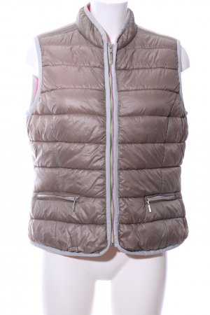 Frieda & Freddies New York Quilted Gilet bronze-colored quilting pattern