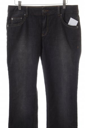 Frieda & Freddies New York Straight-Leg Jeans dunkelgrau Casual-Look