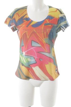 Frieda & Freddies New York Camiseta estampado con diseño abstracto