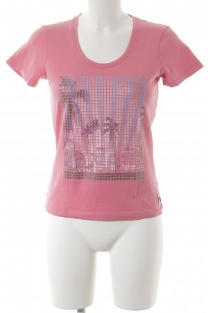 Frieda & Freddies New York T-Shirt Motivdruck Casual-Look