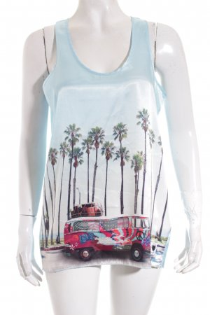Frieda & Freddies New York Top Motivdruck Beach-Look
