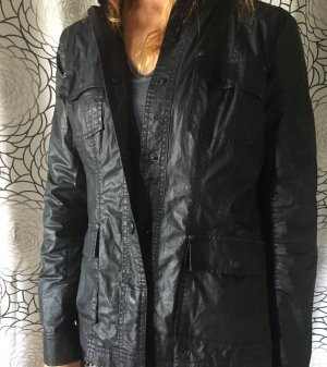 Frieda & Freddies New York Waxed Jacket black