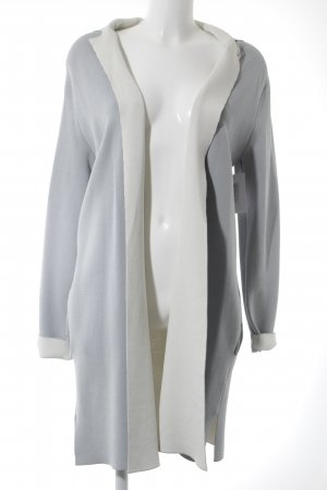 Frieda & Freddies New York Übergangsmantel weiß-babyblau Street-Fashion-Look